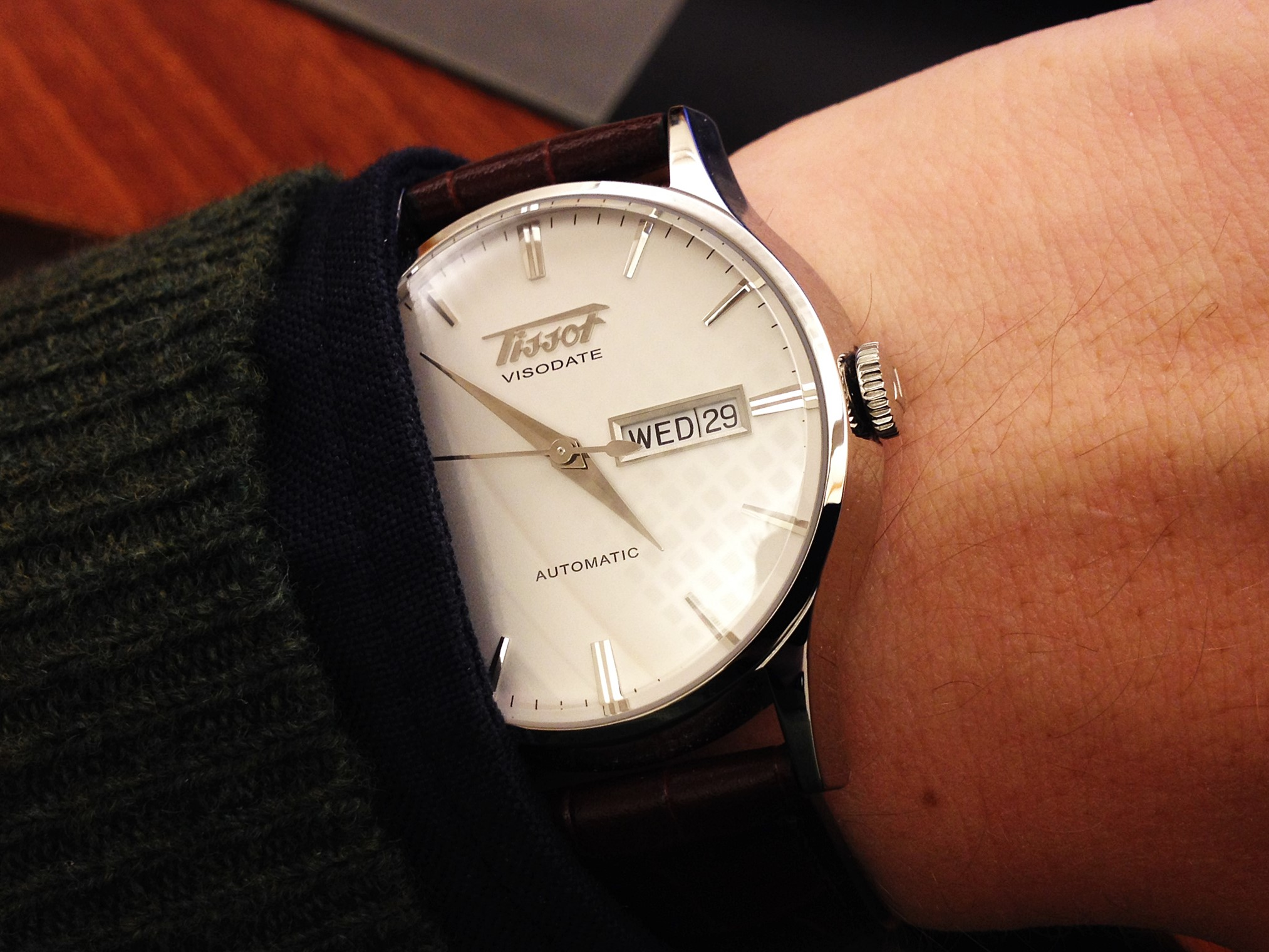a watch flipper s diary  No 211   222 - Tissot Visodate 9f2a33667a