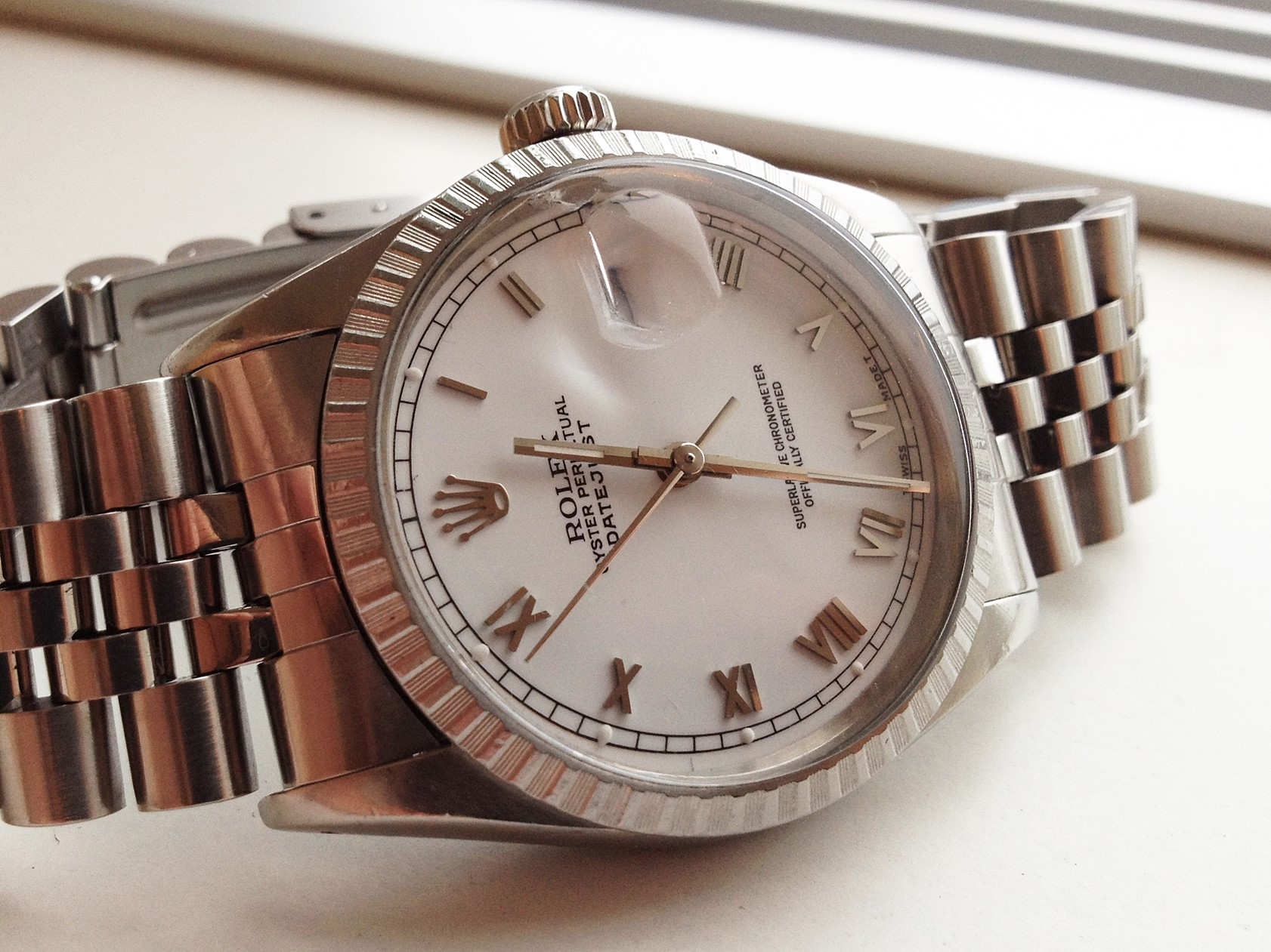 a watch flipper\u0026#39;s diary: No 96, 115 \u0026 139 - Rolex Datejust 16030